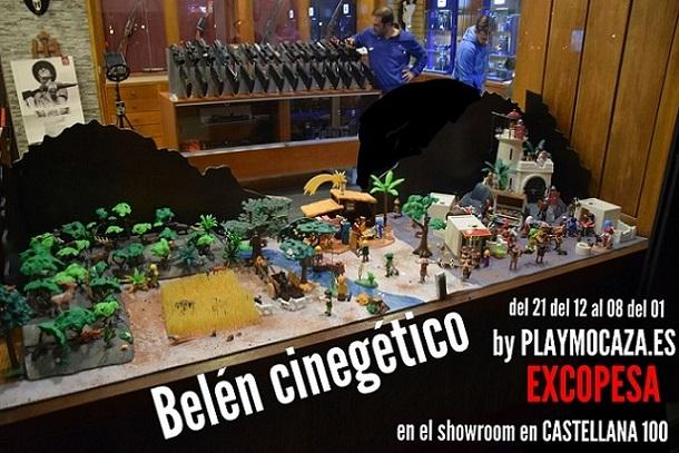 BELÉN CINEGÉTICO EN EXCOPESA