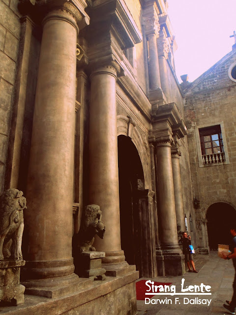San Agustin Church Facade
