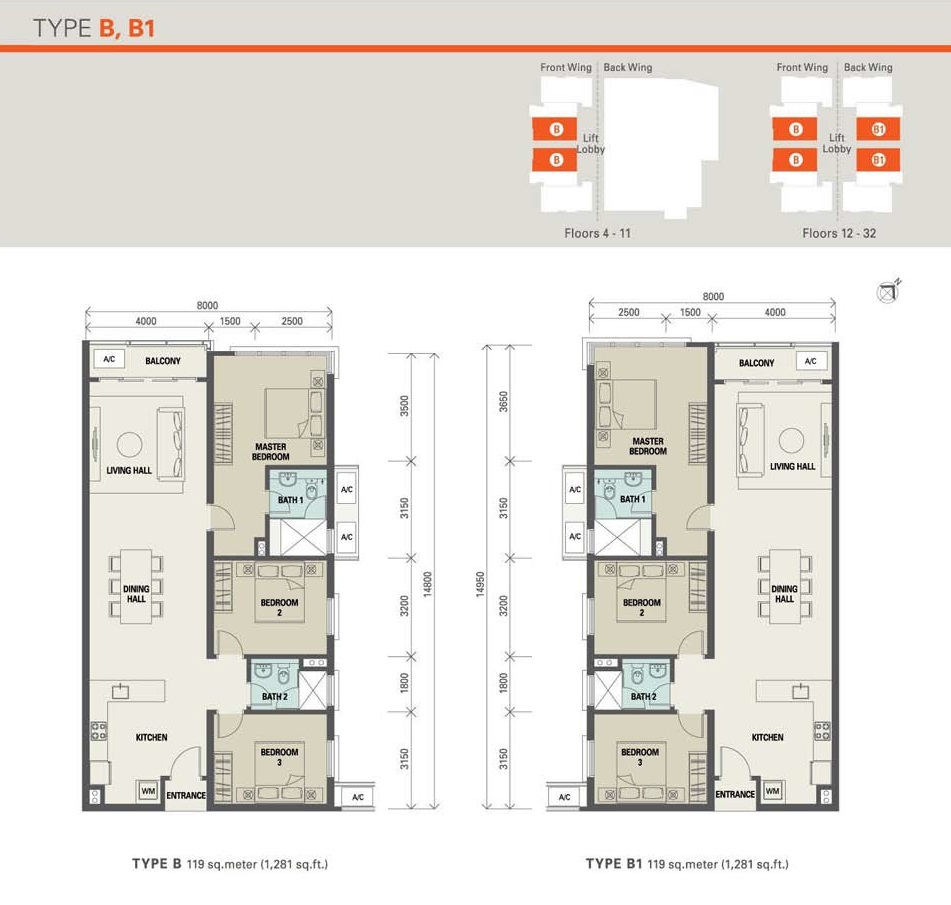 1 Desa Residence Floor Plan Review For M Residence 2