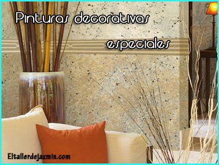 Pinturas decorativas especiales - Pinturas decorativas paredes ...