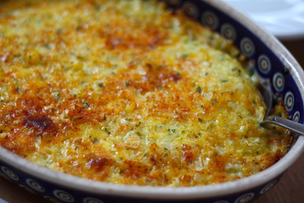 ben and birdy: Savory Corn Pudding