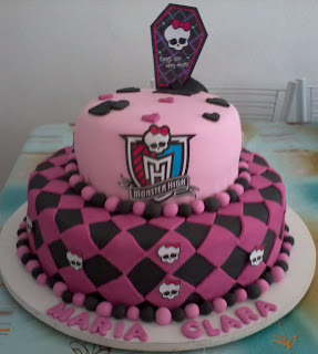 festas: festas e bolos monster high