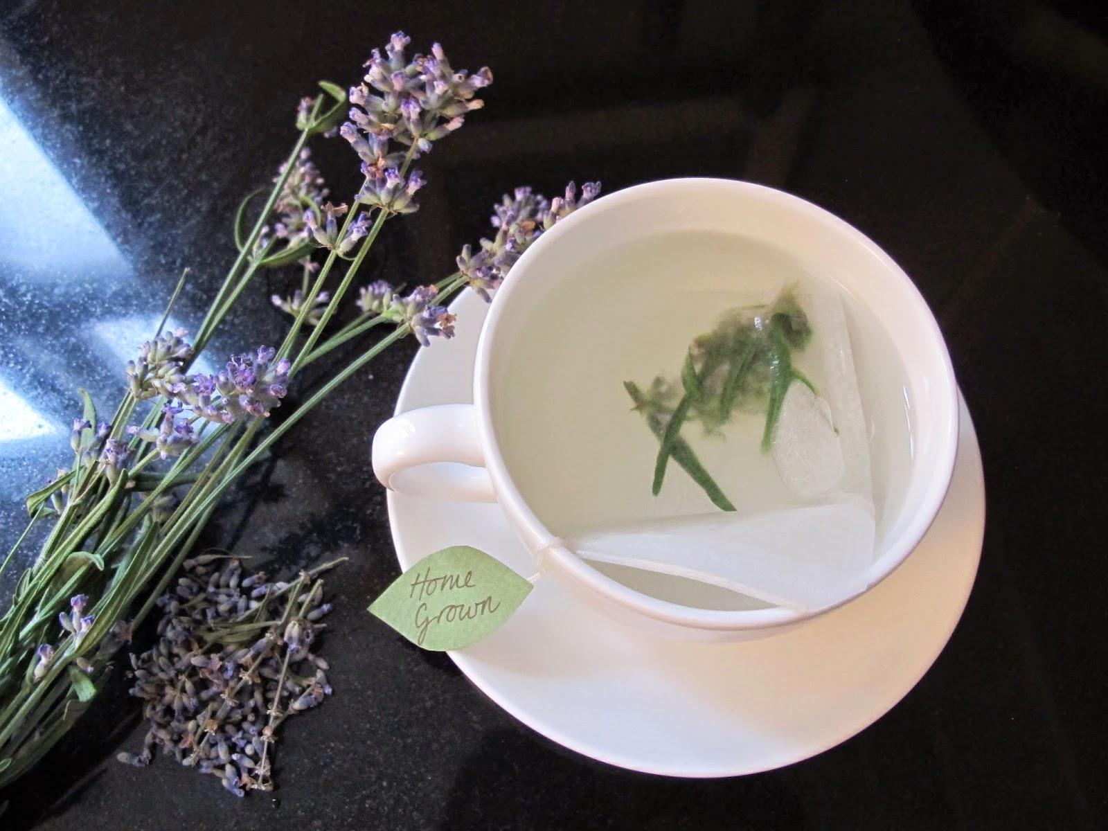 Use lavender to make tea.