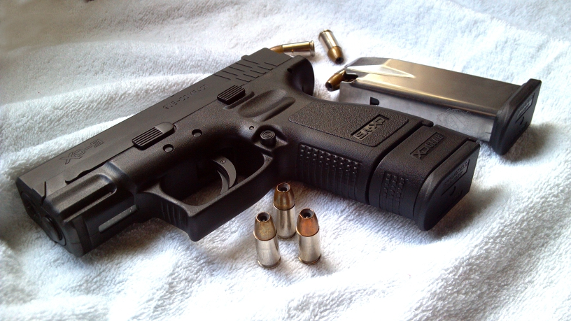 Springfield 9mm xd xd Sub Compact 9mm For