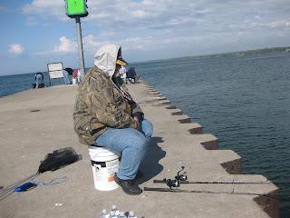 Lake erie fishing blog bay perch season nearing the end for Lake erie perch fishing hot spots