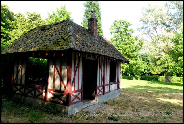Maison colombages Parc du Cénacle Versailles