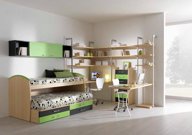 Deco chambre ado fille design deco pour une chambre d ado - Chambre ado style industriel ...