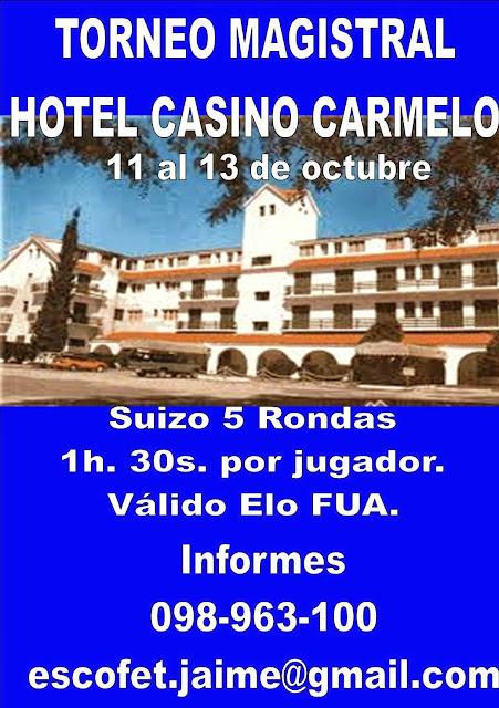 Torneo en Casino Hotel Carmelo