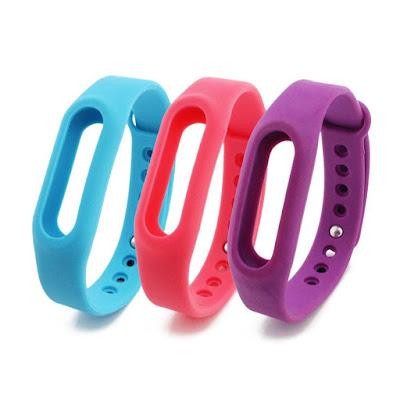 pulseras colores Mi Band