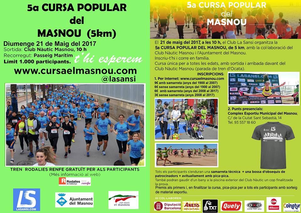 Cursa Popular del Masnou (21.05.17)