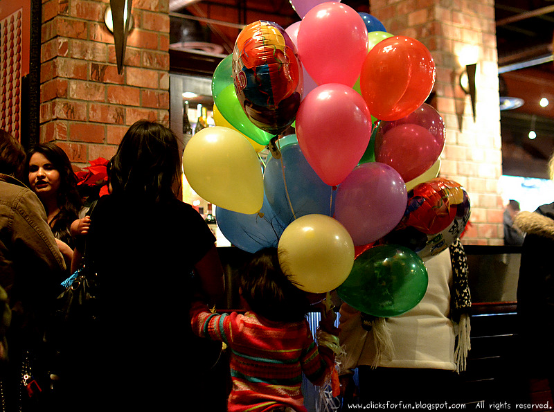 happy new year celebrations children restaurants balloons dinners photos