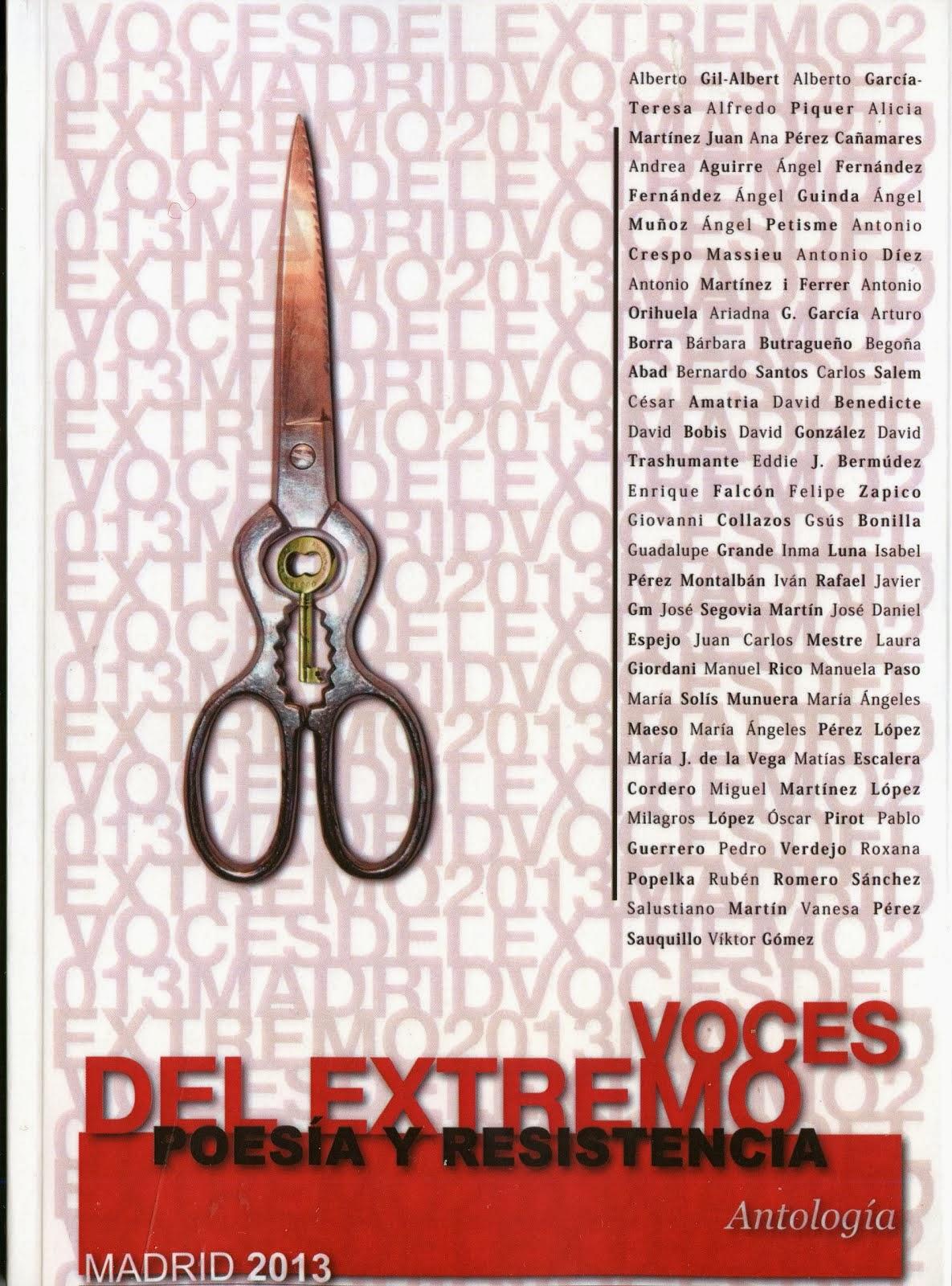 VOCES DEL EXTREMO (1 POEMA)