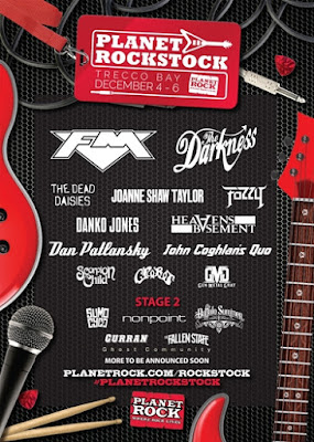 FM at Planet Rockstock 4 Dec 2015 poster