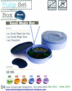 Info & Harga Twin Tulip Tulipware 2014 : Small Magic Box