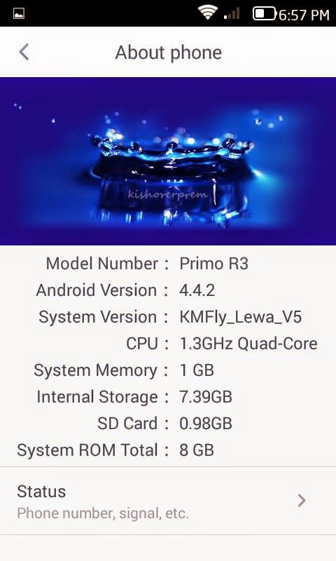 Custom Roms Evercoss A7E - Lewa OS 5