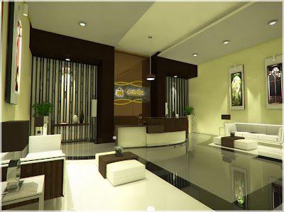 Lobby of Camella Condo Homes Taft beside La Salle