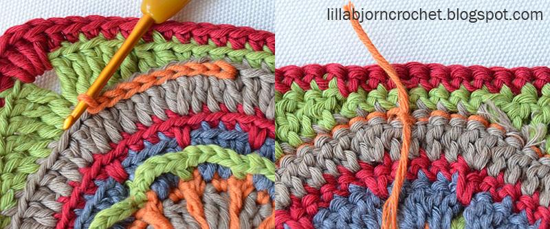 Circles of the Sun Mystery CAL 2015 - overlay crochet - Block 1. Free crochet pattern by LillaBjornCrochet