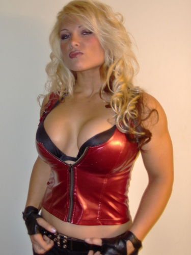 Sexy Look Of Beth Phoenix ... of Immigrants gather at the Broadview Detention Center in Broadview, ...