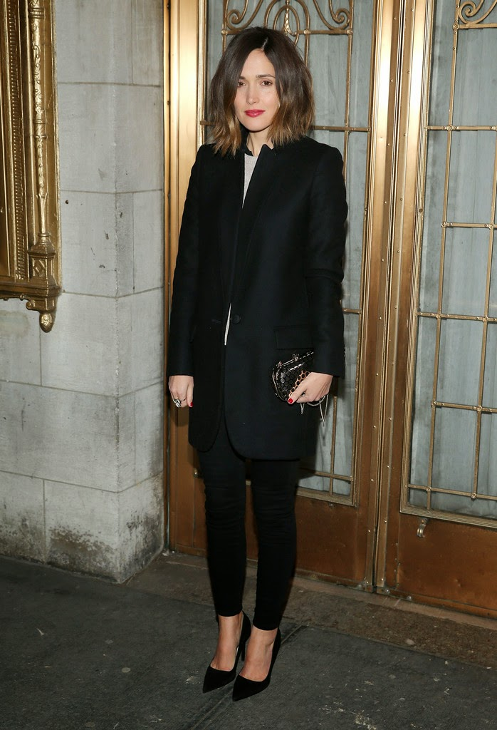 "Actress @ Rose Byrne - ""The Heidi Chronicles"" Broadway Opening Night in NYC"