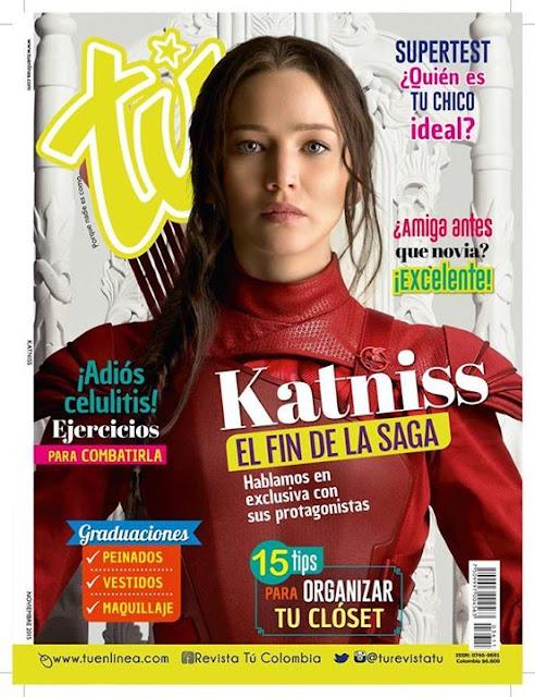 Actress @ Jennifer Lawrence - Tu Magazine Colombia, November 2015
