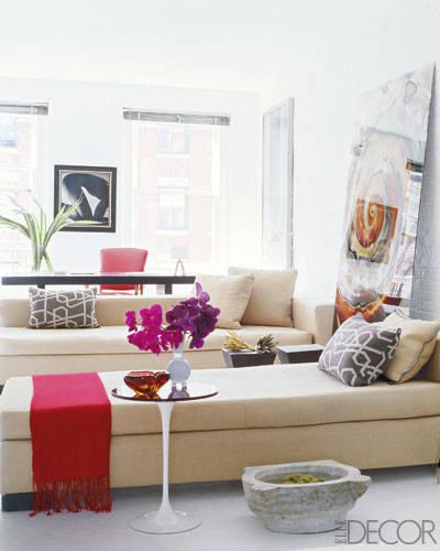 decoracion tonos neutros chaiselonge zona de lectura, decoracion habitacion luminosa consejos