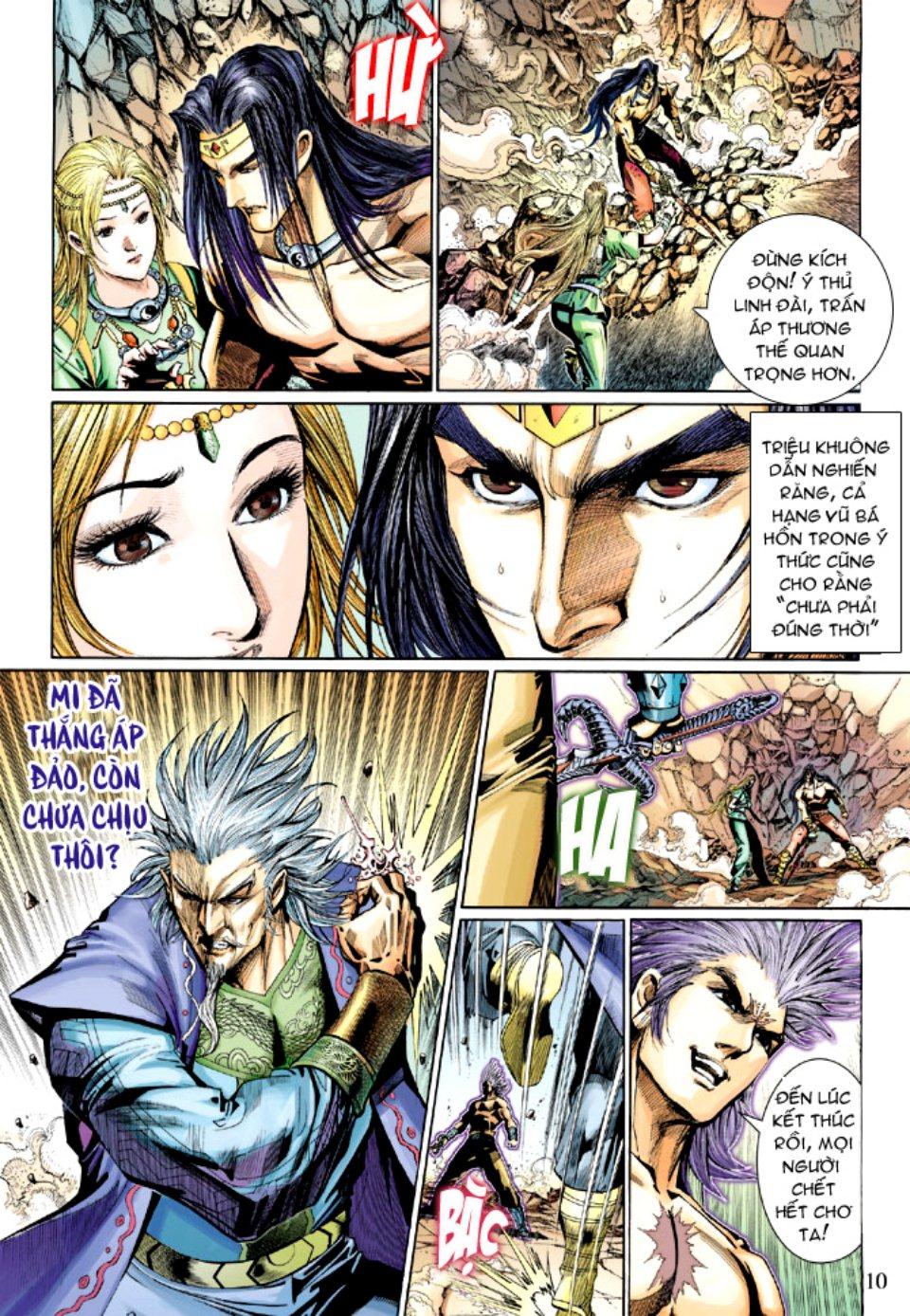 Thiên Tử Truyền Kỳ 5 - Như Lai Thần Chưởng chap 214 - Trang 10