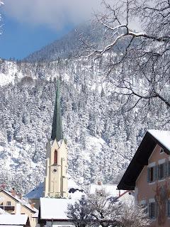 Catholic church in Partenkirchen Maria Himmelfahrt
