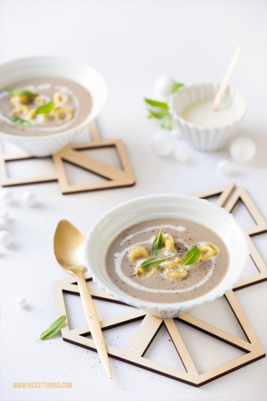 Mushroom Tortellini Soup Recipe