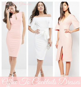 Chic Dresses To Take You From The Office To Cocktail Hour In Style.