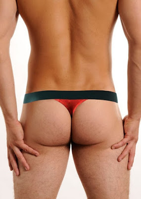 GBGB Wear Mario Thong Red Underwear Back