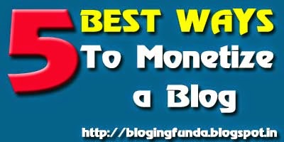 How to earn with your blog content by BloggingFunda