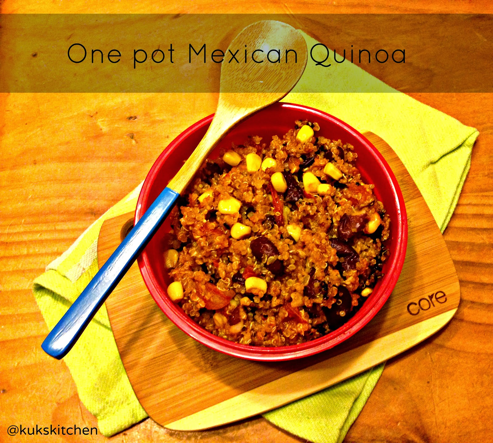 One pot Mexican Quinoa | Kukskitchen