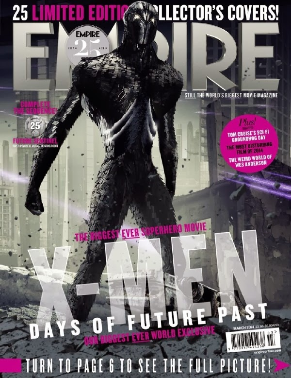 Empire covers X-Men: Days of Future Past: Centinela Nimrod