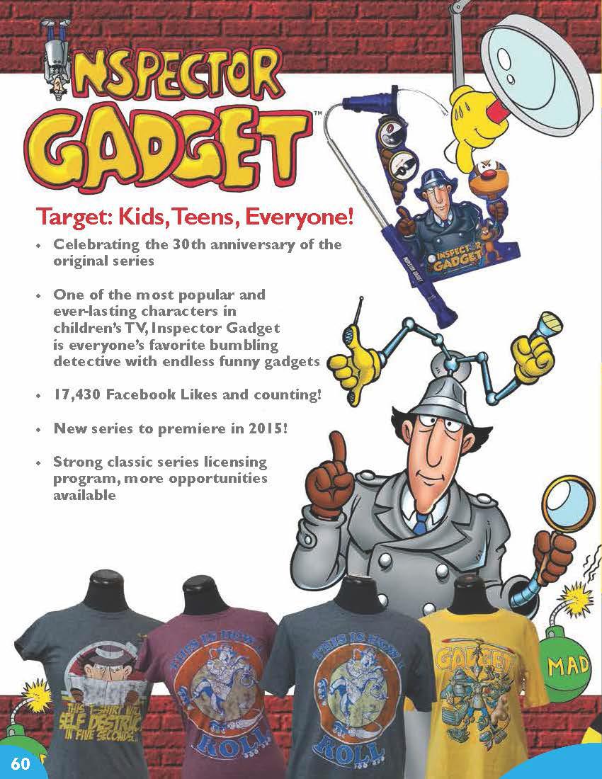 Next Time, Gadget!... Inspector Gadget\'s Ultimate Fan Blog: The New ...
