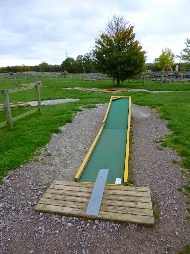 Miniature Golf at Mead Open Farm