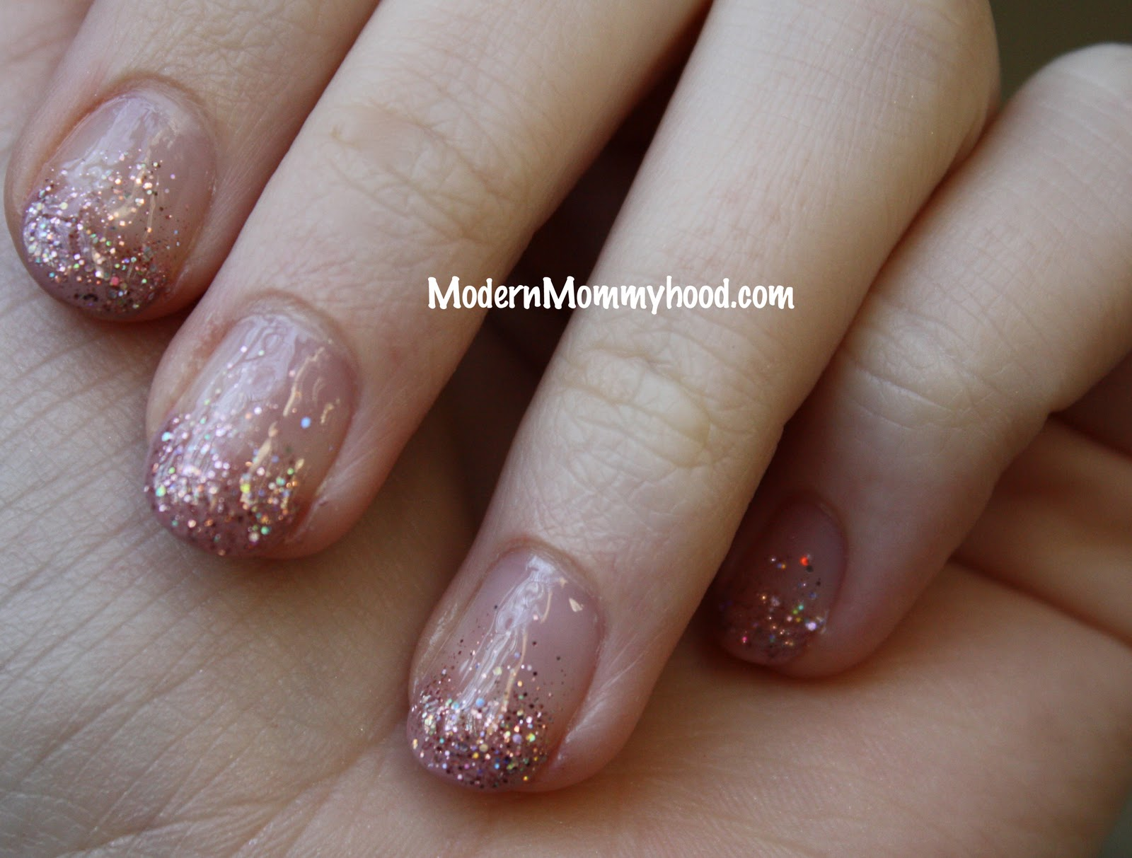Glitter Nail Polish Tutorial - Modernly Morgan