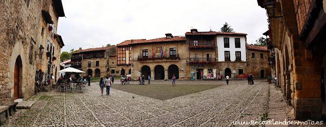 Plaza del Mercado, Santillana del Mar
