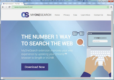 MyOneSearch screenshot