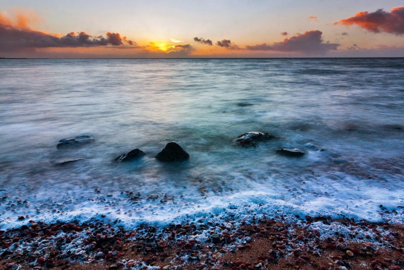 Strandje van Roptazijl aan de Waddenzee