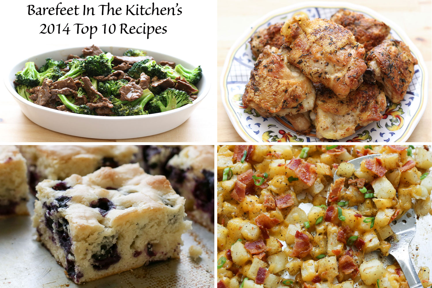 Top 10 New Recipes from 2014! (chosen by BFITK readers)