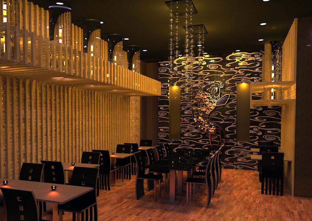 Japanese restaurant professional project design proposal