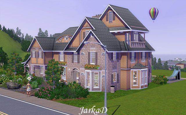 My sims 3 blog family house 36 by jarkad for A family house