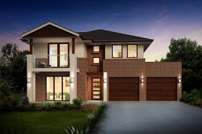 Planos de casas de dos pisos construye hogar for Casa moderna por fuera