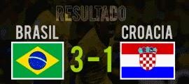 Resultado final del partido Brasil vs Croacia 12 de Junio