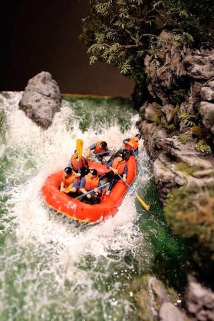 diorama yamamoto hideo work rafting