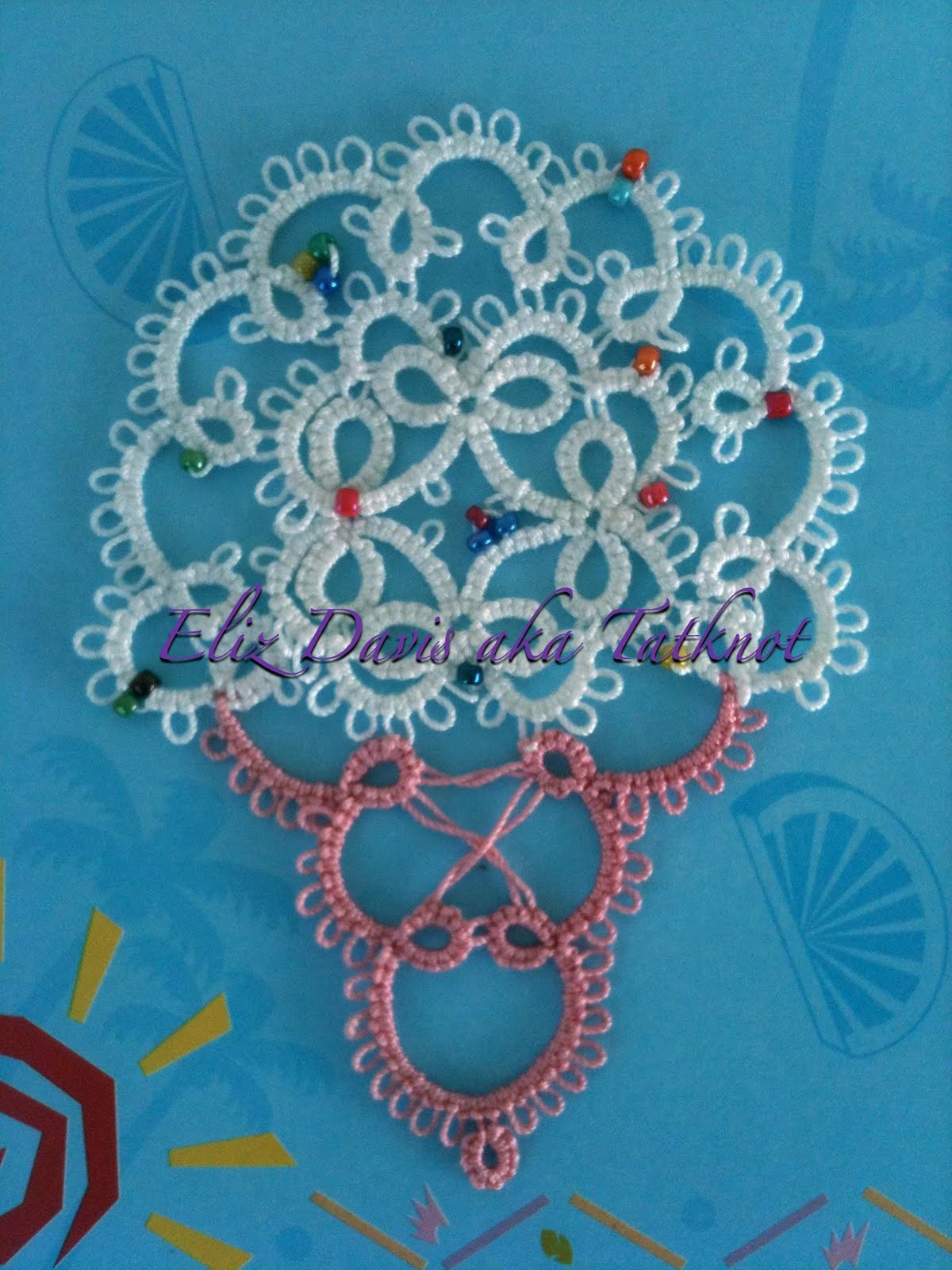 how to make tatting lace