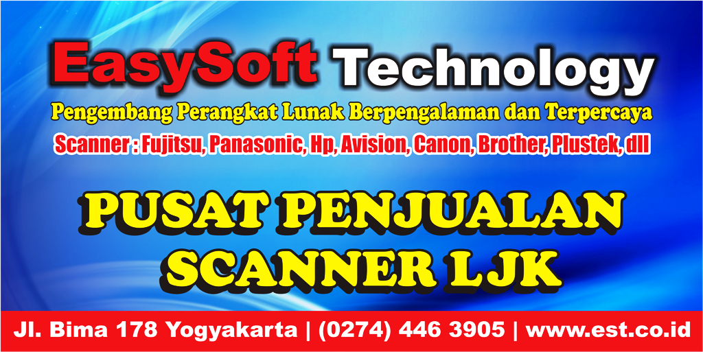 Scanner LJK - OMR - DMR - SMR - Software LJK - Alat Koreksi LJK - Scanner Koreksi Ujian - Mesin LJK