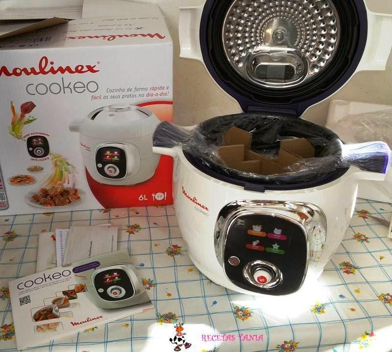 Recetas tania cookeo de moulinex for Cocinar con cookeo