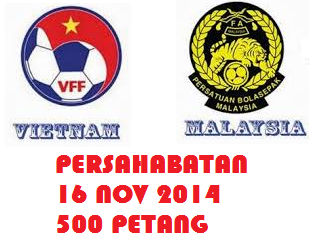 Live Malaysia Vs Vietnam 16 November 2014