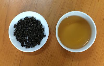 凍頂合作社比賽茶 茶乾與茶湯